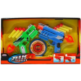 24 Units of AIR GUNS PLAY SET IN OPEN BOX - Toy Weapons
