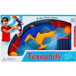 """12 Units of 15.5"""" Toy Archery Play Set In Open Box - Toy Sets"""