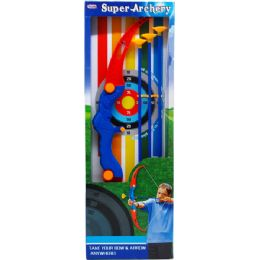 "12 Units of 25"" Super Archery Play Set In Open Box - Darts & Archery Sets"