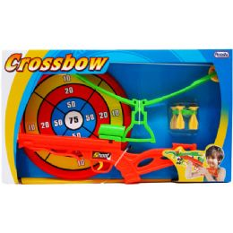 12 Units of Toy Crossbow Play Set With Bulls Eye In Open Box - Toy Sets