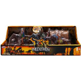 18 Units of Wild The Best West Play Set In Blister Open Box - Action Figures & Robots