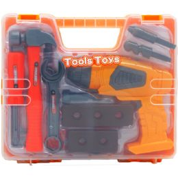 12 Units of 14pc Power Tools Play Set In Window Box Case - Toy Sets