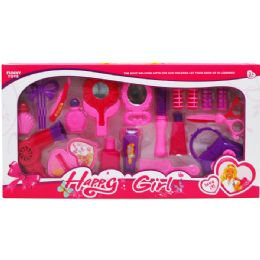 24 Units of Beauty Play Set In Window Box - Girls Toys