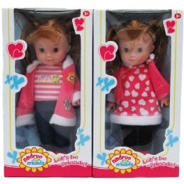 "24 Units of 10"" ANDREA AND FRIENDS DOLL IN WINDOW BOX, 2 ASSRT - Dolls"