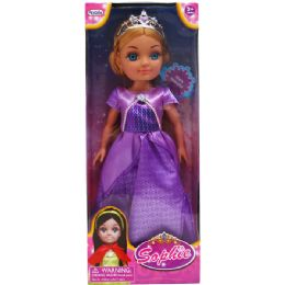 "12 Units of 15"" PRINCESS SOPHIE IN WINDOW BOX, 2 ASSRT - Dolls"