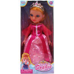 12 Units of Princess Sophie Doll In Window Box - Dolls