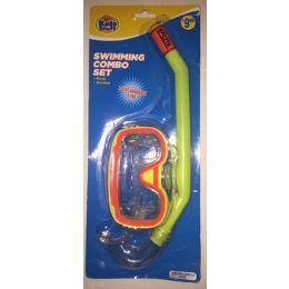 24 Units of Kids Swimming Combo Snorkeling Set - SUMMER TOYS