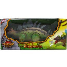 "12 Units of 14"" B/o Dino. Stegosaurus In Window Box, 2 Assrt Clrs - Magic & Joke Toys"