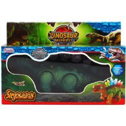 "24 Units of 10"" B/o Dino. Stegosaurus In Pegable Window Box. 2 Assrt - Animals & Reptiles"