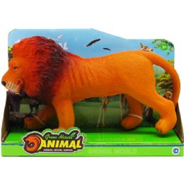 """36 Units of 11"""" 6 Assrt Wild Toy Animals W/ Sound In Open Box - Animals & Reptiles"""