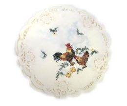 120 Units of Rooster & chicks 11 inch Round - Oven Mits & Pot Holders