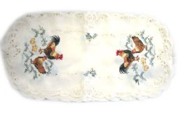 48 Units of Rooster & Chicks 14 inch x 32 inch Oblong - Oven Mits & Pot Holders