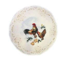120 Units of Rooster & chicks 8 inch Round - Oven Mits & Pot Holders