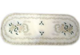 24 Units of Holly & White Candle & Bell 15 inch x 42 inch Oblong - Oven Mits & Pot Holders