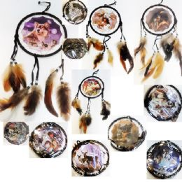 48 Units of Dream Catcher Design Assorted Size:6.25x17inch - Toys & Games