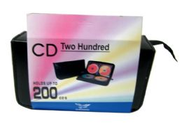 12 Units of 200 Piece Cd Holder /mini - CD and DVD Accessories
