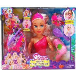 "12 Units of 9.5"" Diana Doll W/ Accss In Window Box, 2 Assrt - Dolls"