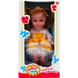 12 Units of Andrea And Friends Doll In Window Box - Dolls