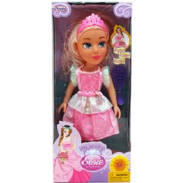 18 Units of Elsie Princess With Accessories In Window Box - Dolls