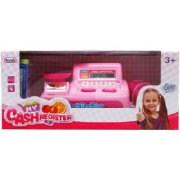 12 Units of B/o Cash Register W/accss In Window Box - Toy Sets