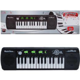 "24 Units of 14"" B/o 29 Key Musical Keyboard In Color Box - Musical"