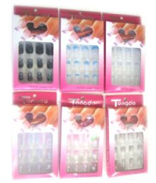 72 Units of Nail Set / Color assorted - Manicure and Pedicure Items
