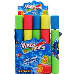 """48 Units of 16""""L x 2.25""""D WATER PUMP IN 12PC DISPLAY BOX - SUMMER TOYS"""