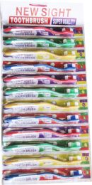 48 Units of 12 Piece Pack Toothbrush - Toothbrushes and Toothpaste