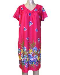 48 Units of Lati Ladies Pull Over House Dress - Women's Pajamas and Sleepwear