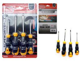 24 Units of 4pc Screwdriver Set - Screwdrivers and Sets