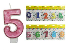 "144 Units of Happy Birthday Candle, Number Size: 2.5"" H - Birthday Candles"
