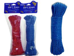 72 Units of Rope 30m Blue Redhc+opp - Rope and Twine