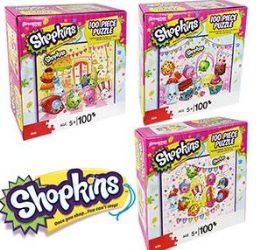 24 Units of Shopkins Jigsaw Puzzles - Puzzles