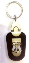 48 Units of Route 66 Keychain - Key Chains