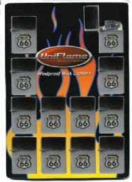 24 Units of Route 66 Lighter - Lighters