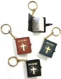144 Units of Bible keychain - Key Chains