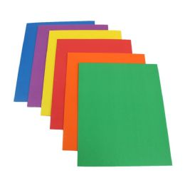 100 Units of Kids 2 Pocket Folder in 6 Assorted Colors - Folders and Report Covers