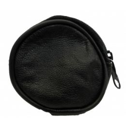 48 Units of Lambskin Round Mini Coin Pouch - Coin Holders & Banks