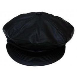 12 Units of Leather Cap- Size Medium - Leather Accessories