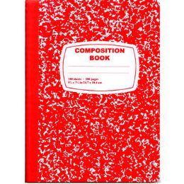48 Units of Red Composition Notebook - 100 Sheets - Notebooks
