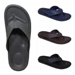 48 Units of Men's Assorted Color Flip flops - Men's Slippers