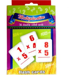 48 Units of Multiplication Flash Cards - 36 Cards - Teacher & Student