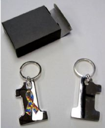 24 Units of utism Awareness Keychain - Key Chains