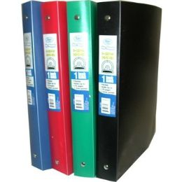 "48 Units of Flexible Poly Binder - 1"" - Solid Colors - Binders"