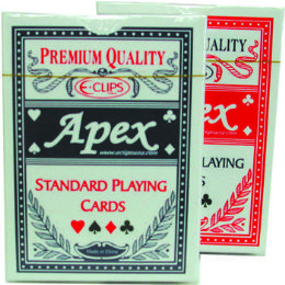 60 Units of Standard Playing Cards - Plastic Coated - Playing Cards, Dice & Poker