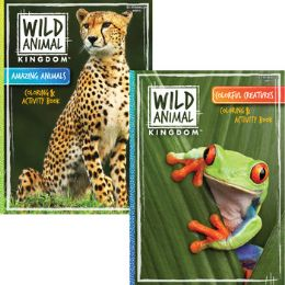80 Units of Coloring and activity books: Wild animals - Coloring & Activity Books