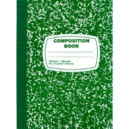 48 Units of Green Composition Notebook - 100 Sheets - Notebooks