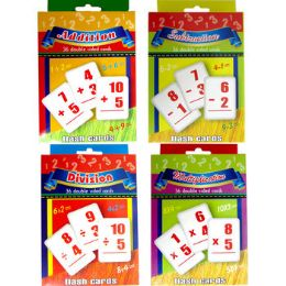 48 Units of Math Flash Cards: Addition, Subtraction, Multiplication, Division - Teacher & Student