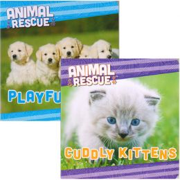 48 Units of Children's 'Animal Rescue' Board books - Baby Toys