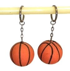 """288 Units of 1.5"""" Rubber basketball keychain - Key Chains"""